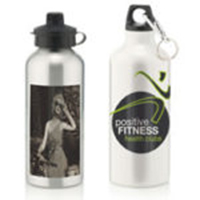 Water Bottle C/W 2 Cap Styles 600ml