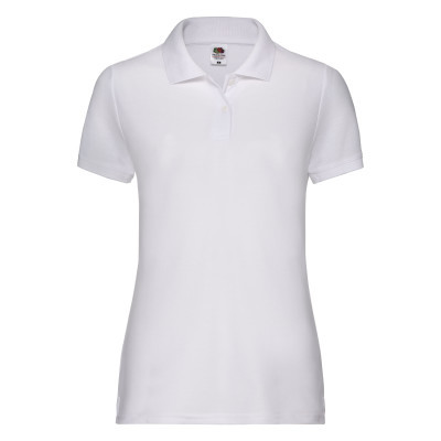 Ladies white Polo shirt