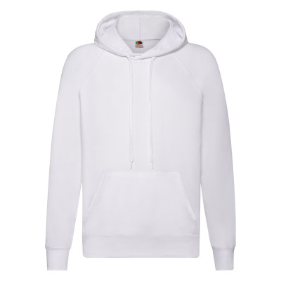 Mens white hoodie