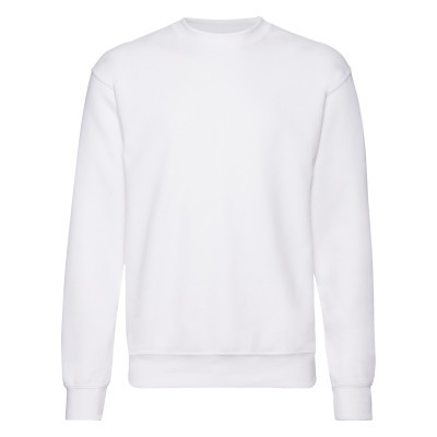 Mens white sweatshirt