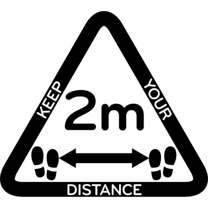 Distance-2m-Triangle