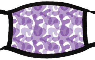 5 face masks - Camouflage Light 2
