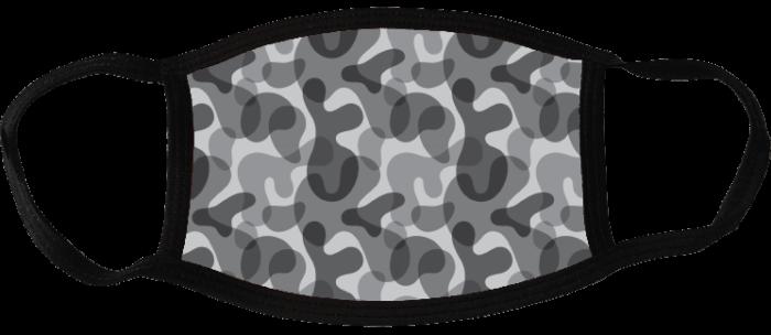 5 face masks - Camouflage Dark 1