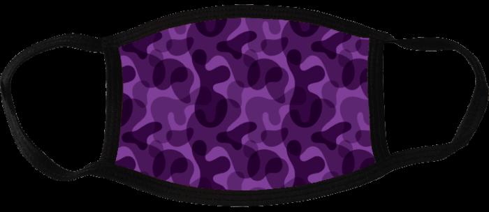 5 face masks - Camouflage Dark 4