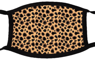 5 face mask - animal pattern 1