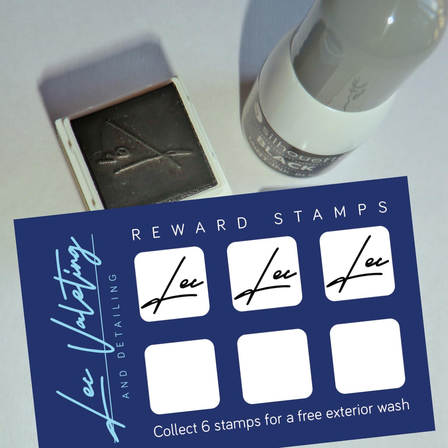 Loyalty card stamp