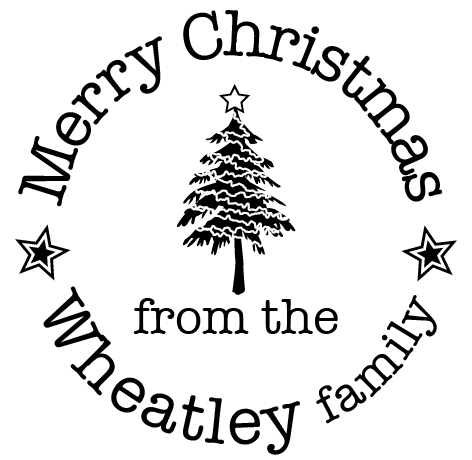Merry Christmas from the Wheatley family