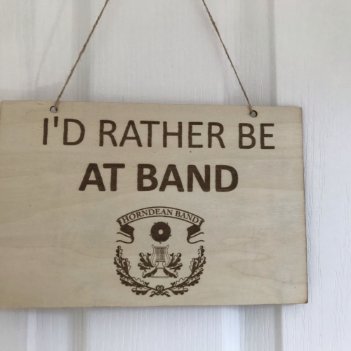 Rather be at band