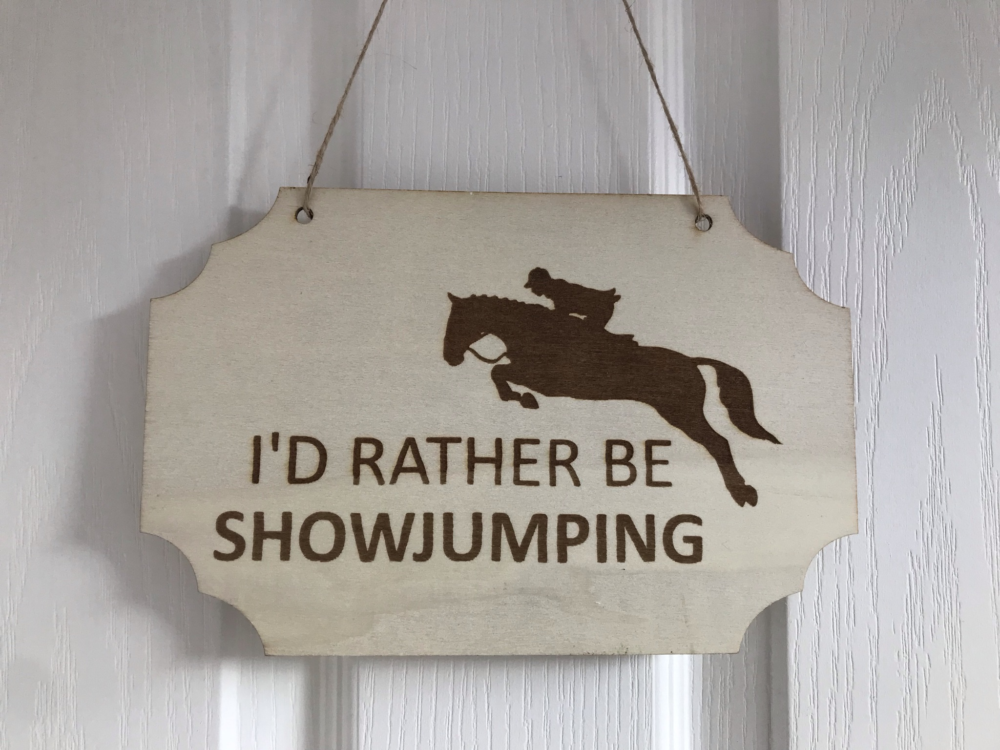 Rather be showjumping