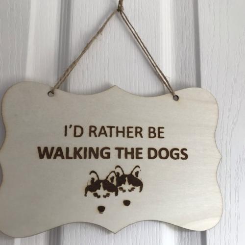 RatherBeWalkingDogs double sign front